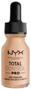 NYX Professional Makeup Total Control Pro Drop Foundation (60g) Vanilla