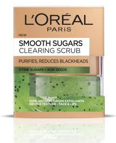 L'Oreal Paris Smooth Sugars Clearing Sugar Scrub (50mL)