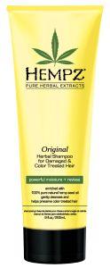 Hempz Original Herbal Shampoo for Damaged & Color Treated Hair (266mL)