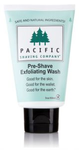 Pacific Shaving Pre-Shaving Exfoliating Wash (89mL)