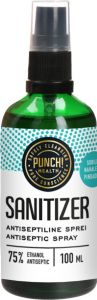 Punch Health Sanitizer Antiseptic (100mL) Spray
