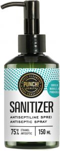 Punch Health Sanitizer Antiseptic (150mL) Pump