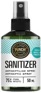 Punch Health Sanitizer Antiseptic (50mL) Spray