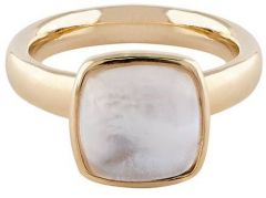 Buckley London White Mop Cushion Ring R483M