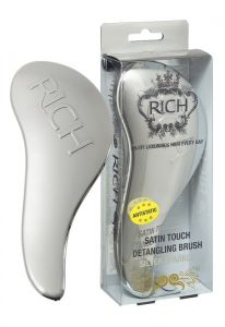 Rich Satin Touch Detangling Brush Silver Sparkle
