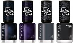 Rimmel London 60 Shades of Black Nail Polish by Rita Ora (8mL)