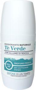 Sapone Di Un Tempo Roll-On Deodorant Green Tea (75mL)