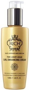 RICH Pure Luxury Argan Curl Enhancing Cream (120mL)