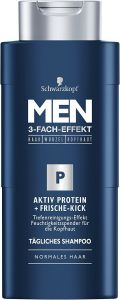 Schwarzkopf Men Shampoo Active Protein Fresh Control (250mL)