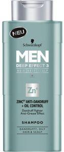 Schwarzkopf Men Shampoo Anti Dandruff + Oil Control (250mL)