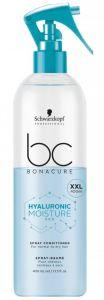 Schwarzkopf Professional Bonacure Hyaluronic Moisture Kick Spray Conditioner (400mL)