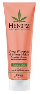 Hempz Sweet Pineapple & Honey Melon Creamy Herbal Body Wash (250mL)