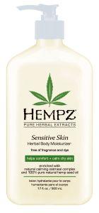 Hempz Sensitive Skin Herbal Body Moisturizer (500mL)