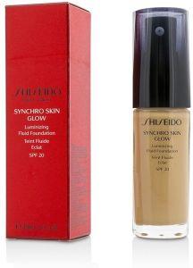 Shiseido Synchro Skin Glow Luminizing Fluid Foundation SPF20 (30mL)