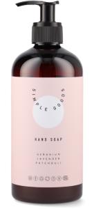 Simple Goods Hand Soap - Geranium, Lavender, Patchouli (450mL)