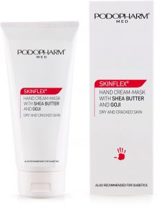 Podopharm Skinflex Hand Cream-Mask with Shea Butter and Goji (75mL)