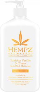 Hempz Tahitian Vanilla & Ginger Body Moisturizer (500mL)