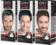 Greyfix 100% Grey Hair Coverage for Men (40mL)