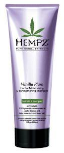Hempz Vanilla Plum Moisturizing & Strengthening Herbal Shampoo (266mL)