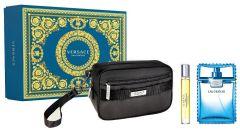 Versace Man Eau Fraiche EDT (100mL) + EDT (10mL) + Cosmetic Bag