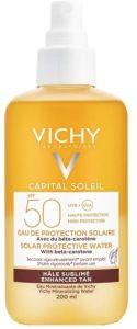 Vichy Capital Soleil Protective Water Tan Enhancing SPF50 (200mL)