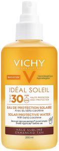 Vichy Capital Soleil Solar Protective Water SPF 30 Enhanced Tan (200mL)