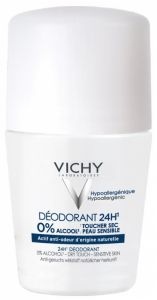 Vichy Dry Touch Deodorant 24H Roll-On (50mL)