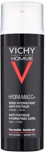 Vichy Homme Hydra Mag C+ Anti-Fatigue 2-In-1 Moisturiser (50mL)
