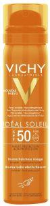 Vichy Ideal Soleil Freshness Face Mist SPF50 (75mL)