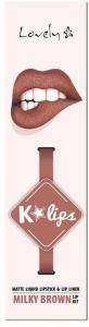 Lovely K-lips Matte Lip Kit (3g) 3