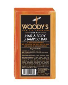 Woody's Hair & Body Shampoo Bar (227g)