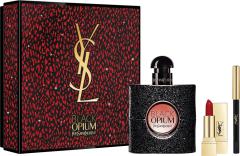 Yves Saint Laurent Black Opium EDP (50mL) + Mini Lipstick + Eye Pencil